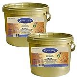 Lyra Pet Dog 2 x 4 kg Soft Strauß im Eimer High Premium Hundefutter getreidefrei
