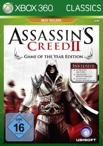 Spiel Assassins Xbox 360 (Assassin's Creed 2 - Game of the Year Edition - [Xbox 360])