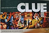 CLUE -- Parker Brothers Classic Detective Game -- An Unsolved Mystery With The Usual Suspects -- Family Age 8+ by Hasbro