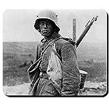 deutscher Soldat 1916 WK I WW 1 M16 Stahlhelm Foto - Mauspad Laptop PC #11094