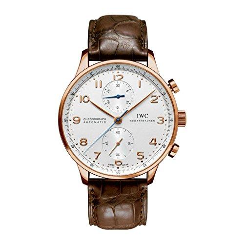 iwc-portugieser-homme-bracelet-cuir-marron-saphire-automatique-montre-iw371480
