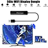 FJHJB Dongle sans Fil avec écran HDMI 5G WiFi Full HD 1080p