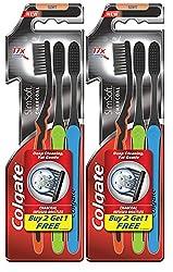 Colgate Slim Soft Charcoal Toothbrush (Buy 2 Get 1)