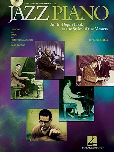 Price comparison product image Jazz Piano: An In-Depth Look at the Styles of the Masters (Book & CD)