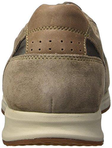 Geox U Avery A, Scarpe Low-Top Uomo Grigio (Dove Grey)