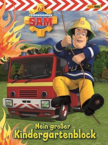 feuerwehrmann sam malbuch Feuerwehrmann Sam Kindergartenblock: Mein großer Kindergartenblock