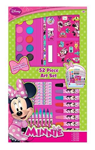 Disney Minnie Maus Riesen MALSET mit 52 Teilen, Zeichnen Malen, Stifte