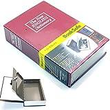Iktu™ Book Safe Book Style Money Cash Locker Jewellery Home Safe Box Dictionary (Size: 180 x 110 x 55mm ) Random Color