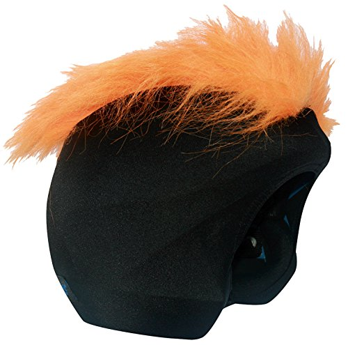 Cool Casc - Funda universal de casco - Pelos Naranja