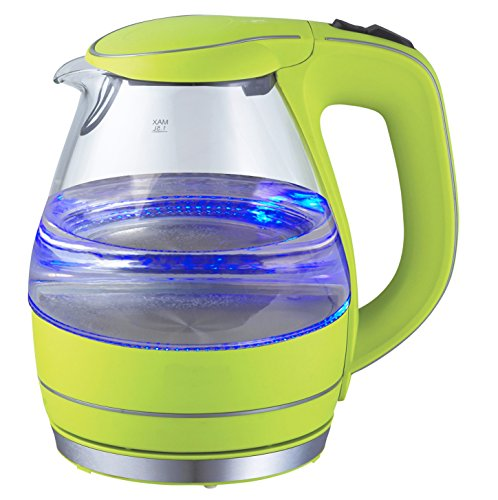 Jarra de Vidrio Hasta 15 tazas 1000 W Team Kalorik Cafetera de filtro con capacidad 1.8 L TKG CM 1008 W Blanco