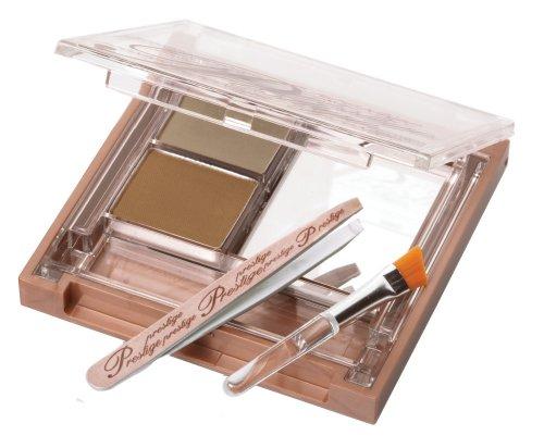 Prestige Cosmetics Brow Perfection, Shaping Studio and Powder, Light/Medium, 0.1 Ounce by Prestige Cosmetics