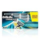 Gillette Mach 3 Lames de Rasage Pack de 20