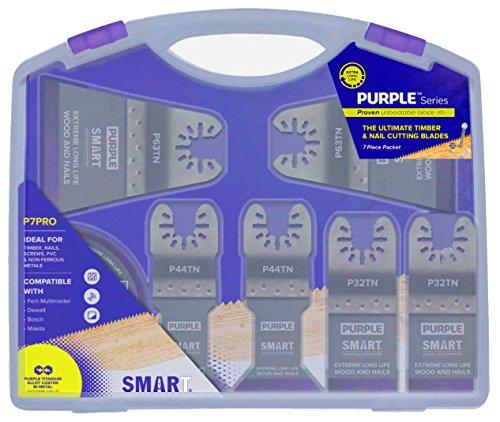 Smart Violett Serie 7Stück Klinge p7max–Smart–fein–DeWALT–Bosch–Makita