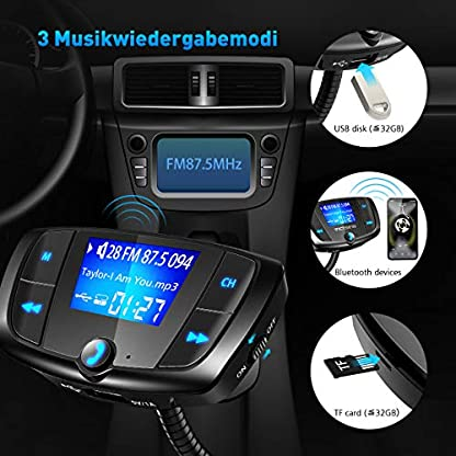 QC30-Bluetooth-FM-Transmitter-Auto-Kit-Freisprecheinrichtung-Radio-Adapter