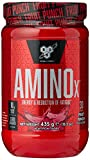 BSN Nutrition Amino X Muscle Building Support Powder Supplement with Vitamin D, Vitamin B6 and Amino Acids, Fruit Punch, 435 g, 30 Servings