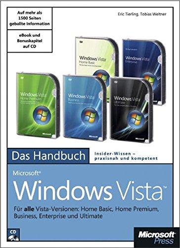 Microsoft Windows Vista - Das Handbuch