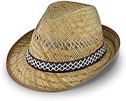 Cappello di paglia da vendemmiatore (protezione dal sole) per Lui e per Lei | Cappello da sole modello trilby