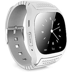 Leopard Shop RWATCH M26s Watch Smart Sports Bluetooth Sleep Management Pedometer Dialing SMS White