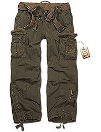 Hose Brandit Royal Vintage Trouser oliv