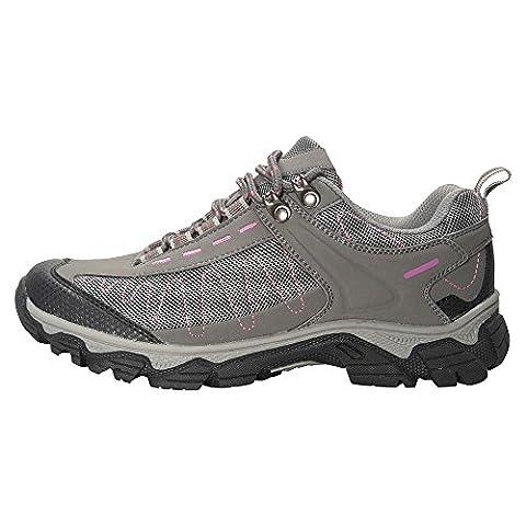 Mountain Warehouse Skyline Damen Trekking-Schuhe Wandersport Trail Wanderschuhe bergwandern atmungsaktiv bequem Grau 39