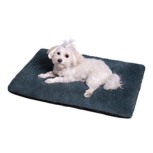 ANIMALY LAMA Haustiermatte, Hundematte, Katzenmatte, Hundebett, Schlafplatz für Hunde und Katzen, vielseitige Liegematte für kleine Vierbeiner. Farbe: Grey, Größe: M - 70 x 50 cm