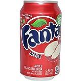 Fanta Apple 12 FL OZ (355ml) - 12 Cans