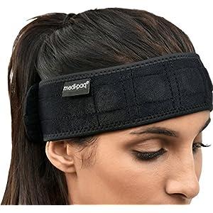 Magnetisches Stirnband – Schnelle Linderung von Migräne und Kopfschmerzen – Medipaq
