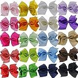 BIGBOBA 20PCS Candy Bögen Haarklammern Klemmen Haarspange Hairhand Jewelry Haar-Styling-Zubehör Haarschmuck für Kleine Mädchen Kinder