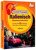 Audiotrainer Basiswortschatz Italienisch: 3 Audio/mp3-CDs + Begleitheft