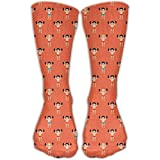 Cool Crazy Weight Lifting Body Builders Pattern Novelty Funny Cotton Crew Dress Socks