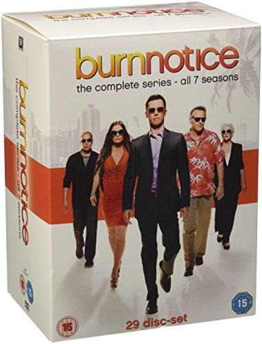 Burn Notice-Complete Seasons 1 [DVD-AUDIO] Audio-serie