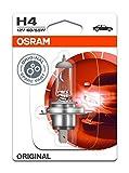 Osram ORIGINAL H4, Halogen-Scheinwerferlampe, 64193-01B, 12V PKW, Einzelblister (1 Stück)