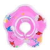 Lieberpaar Kinder Baby Kragen Ring Verdickte Säuglingssitzteil Aufblasbare Verstellbare Schwimmen Ring Zacht (Farbe Random)