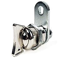 FJM–Sicherheit mei-0781m chrom 7/20,3cm Doppelzylinder Länge außenknauf Cam Lock