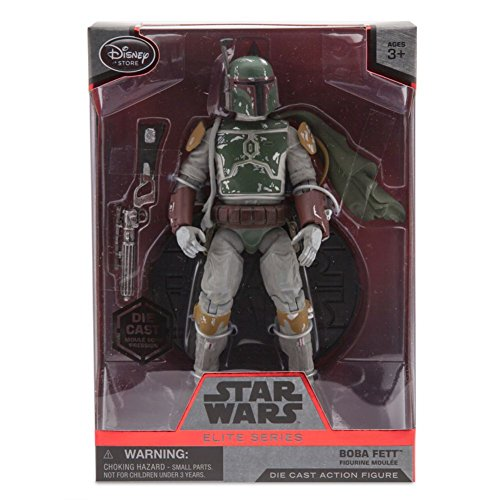 Star Boba 7 Fett Wars (Boba Fett Cape Elite Series Die Cast Action Figure - 7'' - Star Wars by)