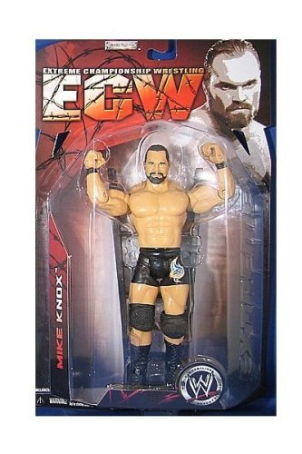 WWE - ECW - 2007 - Extreme Championship Wrestling - Elijah Burke Action Figure - w/ Gym Bag - Series 2 - Limited Edition - Collectible by ECW (Bag Wwe Gym)