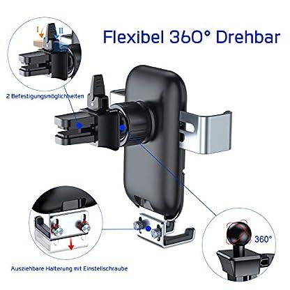 VANMASS-Handyhalterung-Auto-Wireless-Charger-Auto-Lftung-Kfz-Handy-Halterung-10W-Qi-Induktive-Ladestation-frs-Auto-Automatisch-fr-iPhone-XS-MAXX-iPhone-88P-Galaxy-S9S8S10-und-andere-Qi-Gerte