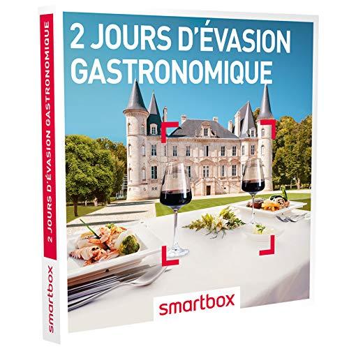 SMARTBOX - Coffret Cadeau homme femme couple - 2 jours d'évasion gastronomique -...