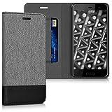 kwmobile HTC U Play Hülle - Kunstleder Wallet Case für HTC U Play mit Kartenfächern und Stand