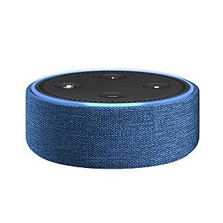 Amazon Echo Dot-Hülle (nur für Echo Dot 2. Generation geeignet), Indigo Stoff