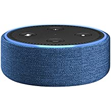 Amazon Echo Dot Case (fits Echo Dot 2nd Generation only), Indigo Fabric