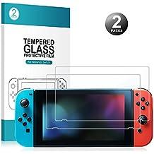 Protection écran pour Nintendo Switch - Younik Protecteur d'Écran 0.25mm / 9H Premium en Verre Trempé pour Nintendo Switch (2 Packs)