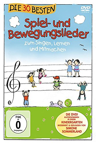 und Bewegungslieder - Die DVD - zum Singen, Lernen und Mitmachen ()