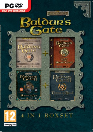 Baldurs Gate 4-in-1 Compilation (PC DVD) [Importación inglesa]