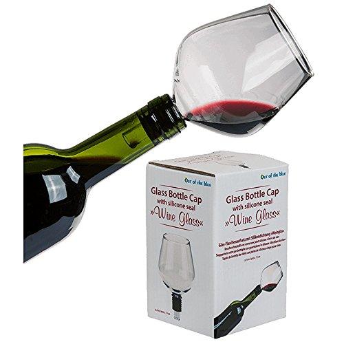 Unbekannt Original Arschlecken 350 Weinflaschenglas Dekantier-Glas-Flaschenaufsatz, ca. 13 cm