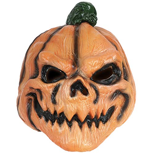 CoolChange gruselige Halloween Kürbis Latex ()