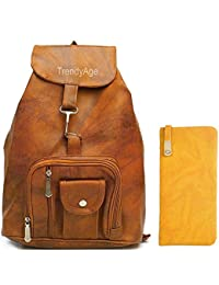 8b8d26315c5d Leather Women s Backpacks  Buy Leather Women s Backpacks online at ...