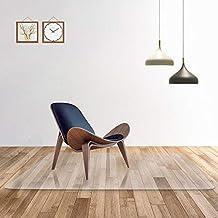 Transparente 100% alfombra de la silla de oficina de PC pura para suelos duros,