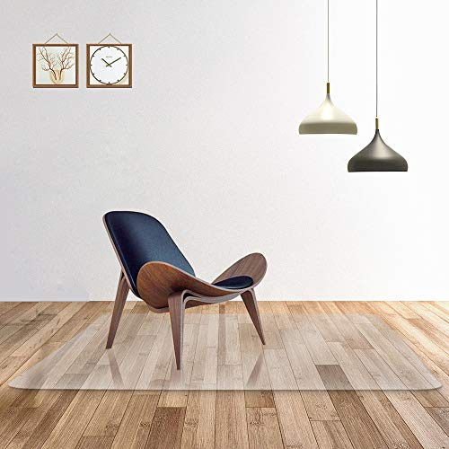 Transparente 100% alfombra silla oficina PC pura suelos