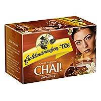 Or bonhomme Thé Chai. Chocolate, Épices Avec Rooibos Bos Thé, Chocolat goût de vanille, 20Sachets de Thé